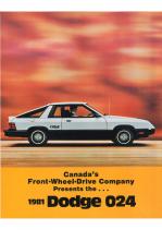 1981 Dodge 024 (Cdn)