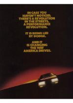 1984 Dodge Performance