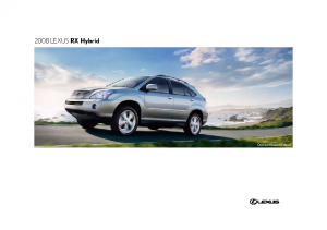 2008 Lexus RX Hybrid