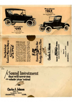 1924 Ford Closed Cars Mailer