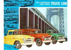 1957 Chevrolet Task Force Truck Line