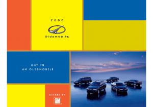 2002 Oldsmobile Full Line