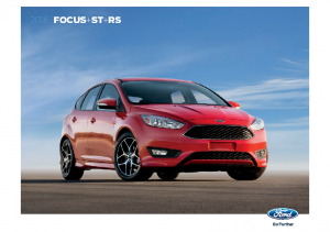 2016 Ford Focus ST-RS