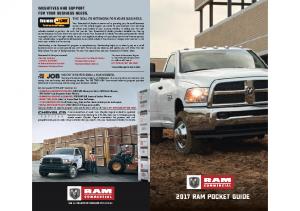 2017 Ram Pocket Guide