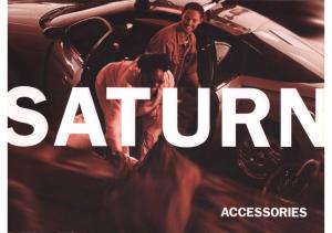 2001 Saturn Accessories Folder