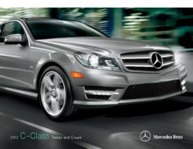 2012 Mercedes Benz C-Class Sedan-Coupe