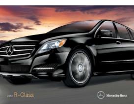 2012 Mercedes Benz R-Class