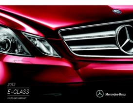 2013 Mercedes-Benz E-Class Coupe-Cabriolet