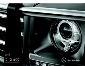 2013 Mercedes Benz G-Class