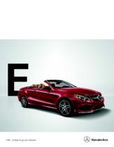 2015 Mercedes Benz E Class Coupe-Cabriolet