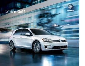 2018 VW e-Golf