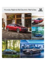 2019 Honda Hybrid & Electric Vehicles