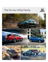 2019 Honda Utility Vehicles
