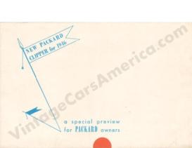1946 Packard Clipper Folder