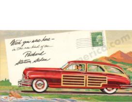 1948 Packard Station Sedan