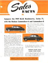 1949 Hudson March Sales Facts Hudson vs Buick Roadmaster