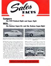 1949 Hudson March Sales Facts Hudson vs Packard