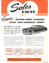 1949 Hudson September Sales Facts Compare Hudson Features