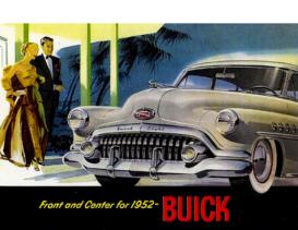 1952 Buick Foldout