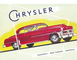 1952 Chrysler Full Line Foldout