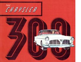1955 Chrysler 300 Folder