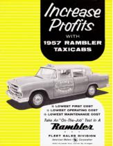 1957 AMC Rambler Taxicab Foldout