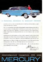 1958 Mercury Message