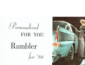 1959 AMC Rambler Full Line Mini