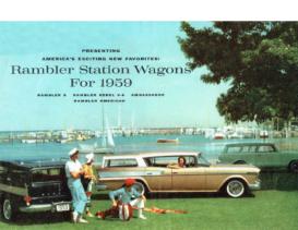 1959 AMC Rambler Wagons