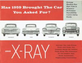 1959 AMC X-Ray Rambler
