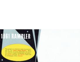 1961 AMC Rambler Color Chart