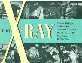 1961 AMC X-Ray Economy Cars