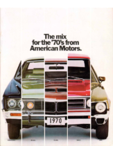 1970 AMC Full LIne Prestige
