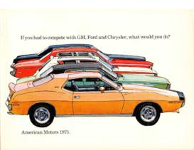 1971 AMC Full Line Prestige