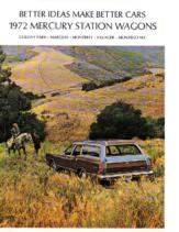 1972 Mercury Wagons
