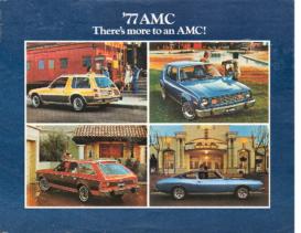 1977 AMC Full Line Mailer
