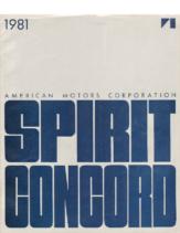 1981 AMC Spirit & Concord