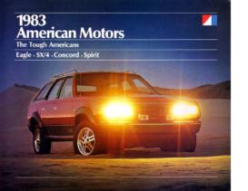 1983 AMC Full Line Prestige