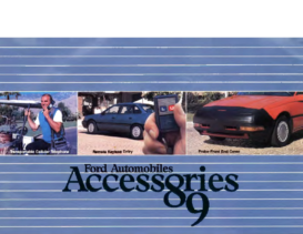 1989 Ford Automobiles Accessories