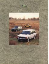 1994 Land Rover Full Line