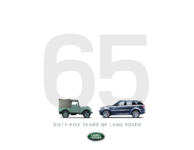 2013 Land Rover 65 Years