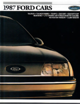 1987 Ford Cars