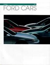 1993 Ford Cars Full Line