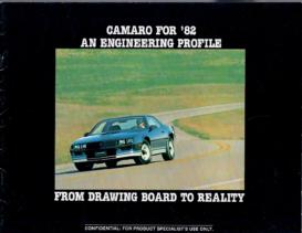 1982 Chevrolet Camaro Engineering Profile