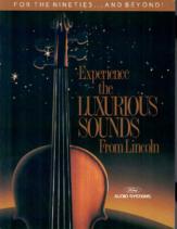 1990 Lincoln Audio