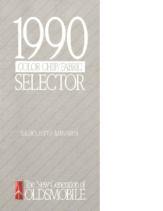 1990 Oldsmobile Silhouette Colors