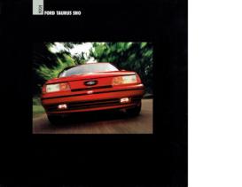 1991 Ford Taurus SHO Folder