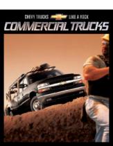 2002 Chevrolet Commercial Trucks