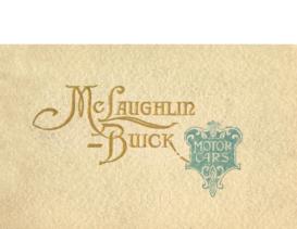 1914 McLaughlin Buick Motor Cars