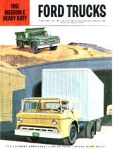 1961 Ford Medium and HD Trucks CN